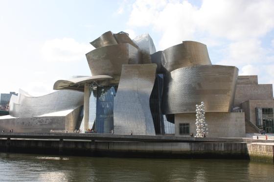 Musée Guggenheim, Bilbao,_juillet 2010