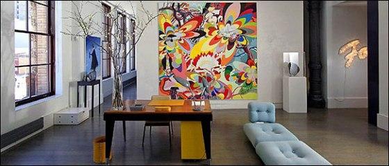 Chez Dominique Lévy et Dorothy Berwin, New York.
