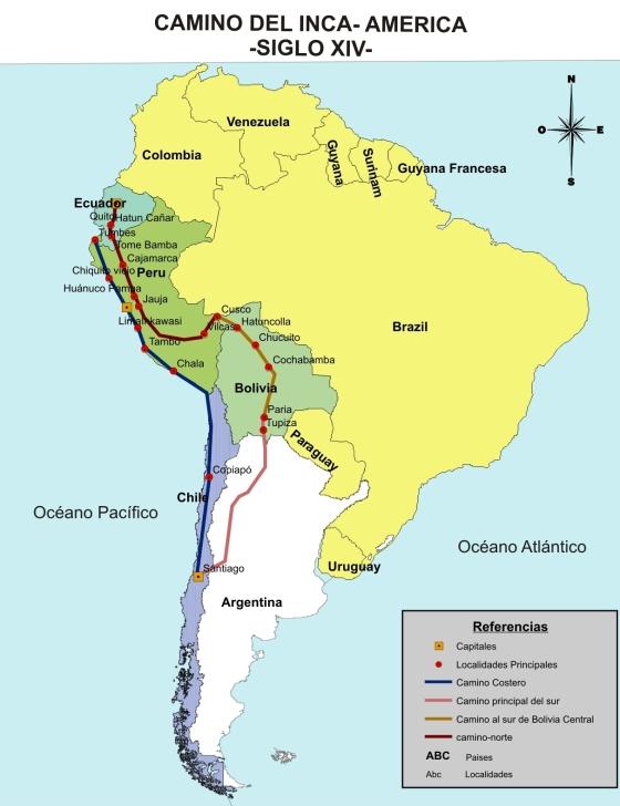 Camino del Inca AtlasALaMarca