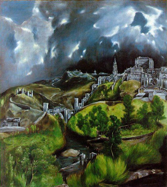 El Greco, La vue de Tolede, Metropolitain Museum, New York