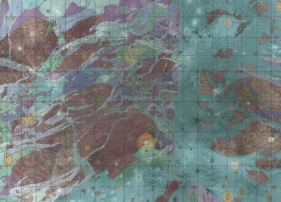 Carte de Ganymède