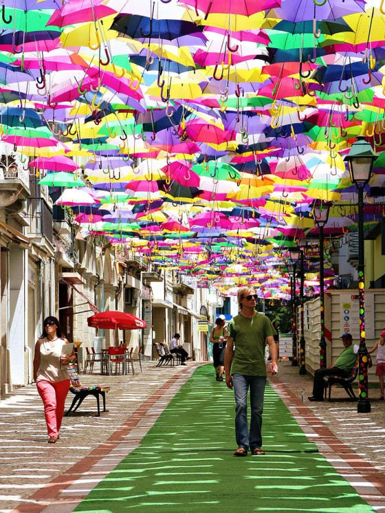 Umbrella Sky Project, Portugal